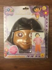 Dora The Explorer Costume Set Size 4-6