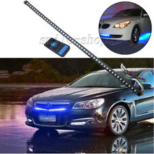 """22"""" 10K Blue 48-SMD Knight Rider Strip Light Under Hood Behind Grille For Acura"""