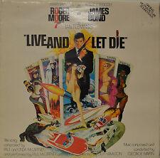 """OST - SOUNDTRACK - JAMES BOND - LIVE AND LET DIE - GEORGE MARTIN 12"""" LP (N231)"""