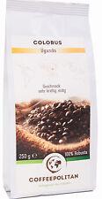 Colobus - Kaffee aus Uganda - Robusta Kaffeebohnen 250g - hoher Koffeingehalt