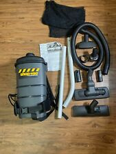 SHOP VAC BP20TS Back Pack Vac, Commercial ,Two-Stg