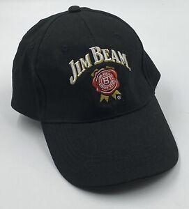 Jim Beam Since 1795 Black Hat Baseball Cap Adjustable