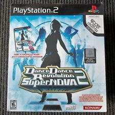 Dance Dance Revolution SuperNOVA 2 (Sony PlayStation 2, 2007) NEW SEALED