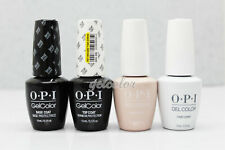 OPI Soak Off Gel Nail French Manicure Kit 4pc: BASE+TOP+FUNNY BUNNY+BUBBLE BATH