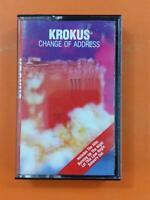 KROKUS Change Of Address AC8 8402 Cassette Tape