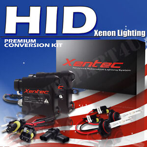 Honda Civic Headlight Low Beam High Beam Fog Light Slim Xenon HID Kit All Color