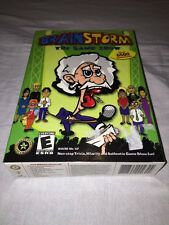 Brain Storm The Game Show PC Windows 98/Me/XP-BRAND NEW & FACTORY SEALED!