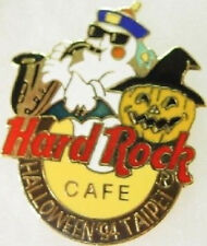 Hard Rock Cafe Taipei 1994 Halloween Pin Ghost Pumpkin Bat w/Hrc Logo Pin #9630