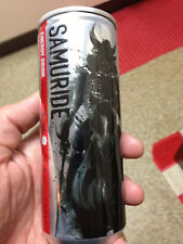 Japan 2014 SAMURIDE Energy drink can USED empty EX combine BURN Monster Red Bull