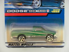 HOT WHEELS 1999  DODGE RAM 1500  #1059  GREEN