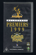 MELBOURNE STORM PREMIERS1999 ' NRL Grand Final ( video/vhs)