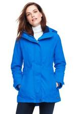 LANDS' END XS (2-4) Pool Blue Squall® Hooded Parka or Coat NWT $159