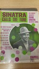 Sinatra Calls The Tune: Music Score