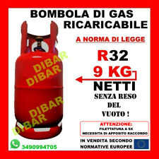 R32 9 KG BOMBOLA DI GAS REFRIGERANTE RICARICABILE NUOVI CONDIZIONATORI DAIKIN 3