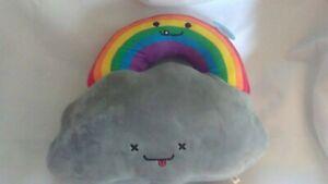Kidrobot BFF's Stormy and Rainbow Large Plush