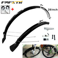 "MTB Mountain Bike Front Bicycle Fender Mudguards 26"" Mud Guard Cycling Accessory"