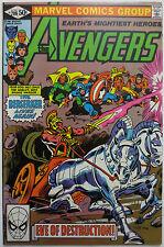 The Avengers #208 (Jun 1981, Marvel) Vision Scarlet Witch Wonder Man Beast C2762