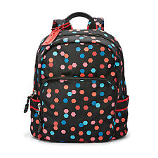 NWT Fossil Abbott Backpack in Eco-Friendly REPREVE® Fibers Multi Color SHB1531P