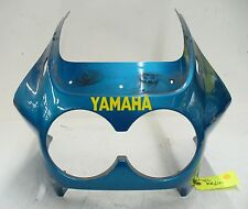 YAMAHA 86 87 88 FZ 600 FZ600 UPPER FAIRING HEADLIGHT COWL FAIRING PLASTIC OEM