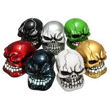 Universal Car Truck Manual Skull Head Stick Gear Shift Knob Lever Shifter Cover