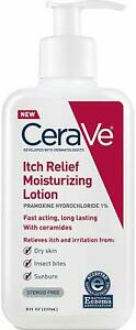 CeraVe Itch Relief Moisturizing Lotion 237ml (Developed with Dermatologist)