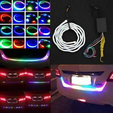 RGB LED Cars Vehicle Rear Trunk Tailgate Turn Signal Lamp Tail Brake Light Strip