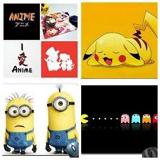 Buy 1 get 1 Free! Japan Mouse Pad Pacman Minions Pikachu