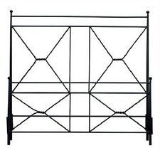 "78"" x 84"" x 59"" Iron Frame Hand Crafted Double X Bed King  773016-dni"