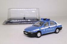 DeAgostini 1999 Fiat Marea; Polizia de Stato, Alto Adige, Italy; Excellent Boxed