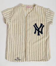 ROGER MARIS MITCHELL & NESS NEW YORK YANKEES 1961 HOME JERSEY SZ 40 Shortened