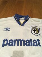 ZOLA 10 PARMA 1993 1994 95 MAGLIA SHIRT TRIKOT WORN ISSUED MATCH GAME USED M