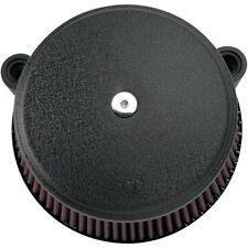 Arlen Ness Big Buzzsucker Filtre à air Black Cover Kit pour Harley twin cam 99-15
