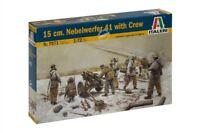 Italeri 1:72 - 7071, 15cm Nebelwerfer 41 w/crew, Modellbausatz unbemalt,Plastikm