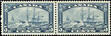 Canada Mint NH VF Pair of 5c Scott #204 1933 Royal William Stamps