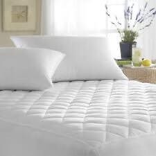 Caravan Waterproof Quilted Mattress Protector  Right/Left Cut Off&Island Bed