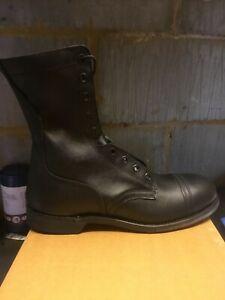 American Steel Toe Cap Combat boots ( Men's), size US 11.5, UK 10.5