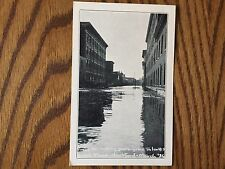 Hartford CT Postcard March '36 Flood Front street from Talcott Street