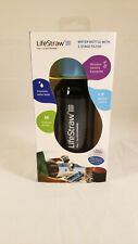 Lifestraw Play Kids' Water Filter Bottle - 2-stage Integrated Filter Straw