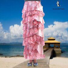 SHARON TANG Modest Apparel Long Chiffon Ruffle Layer Skirt M ST132080002-102