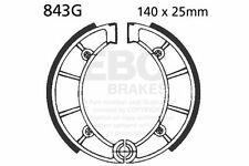 FIT SVM (SWM)  XN 506 Enduro 84> EBC FRONT GROOVED BRAKE SHOES