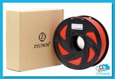Red ABS 3D Printer Filament 1.75mm 1 kg 2.2 lbs