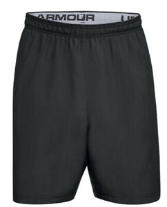 Under Armour Size XXL Woven Graphic Shorts Black
