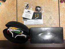 Oakley Racing Jacket Sunglasses Tour de France White Red Black Iridium VR28 NIB