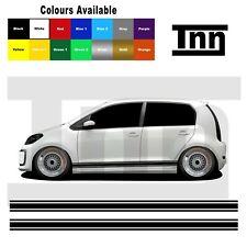 Side Stripes Stickers Decals For VW Volkswagen Up! UP Skoda Citigo Seat Mii