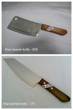 "Stainless Steel 7"" Master Chefs/Cooks knife & 6"" Meat/Bone Cleaver KIWI combo"