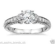 1.71ct Brilliant Cut Diamond Solitaire Engagement Ring 14ct White Gold