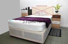 Coil Spring Firm Divan Beds with Mattresses