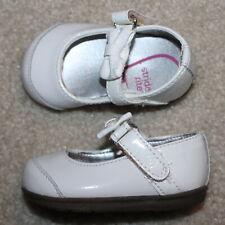 New! Baby Girls Stride Rite Mirren Crib Shoes (Mary Jane; White; 3-6 m) - Size 2