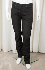 CHRISTIAN DIOR Homme Classic Mens Black Straight-Leg 5-Pocket Jeans Pants 33 NEW