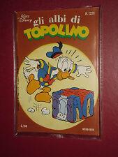 ALBI DELLA ROSA- POI albi di TOPOLINO - N°1229-mondadori disney anno 1978 -casa